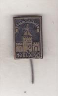 USSR Russia Old Pin Badge  - Cities - Novgorod - Spasski Tower - Cities
