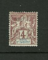 Côte D'Ivoire 1892/1899    N° 3    Colonie Francaise      Neuf Avec Trace De Charnière - Unused Stamps