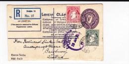 IRLANDE - 1925 - ENVELOPPE ENTIER POSTAL De DUBLIN Pour SALZBURG (AUTRICHE) - Entiers Postaux