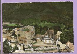 67 -  Le  Château Du HAUT-BARR (environs De Saverne) Avec La Vallée  - Photo Véritable - Saverne