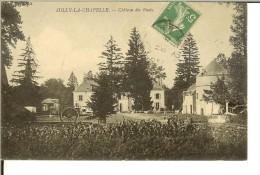 Sully- La - Chapelle : Chateau Des Ruets- Timbre Recto Semeuse Camée Verte 5c - France