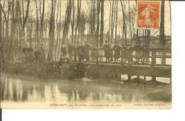 Ed Louis Joly - Bondaroy, Près De Pithiviers - Les Inondations De 1910 - Carte Animée-timbre Recto - Other Municipalities