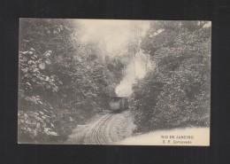 Brazil PPC Rio De Janeiro E.F. Corcovado Train 1909 - Treinen