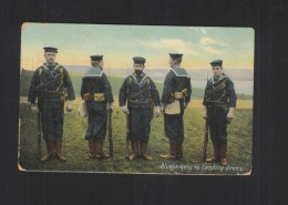 PPC UK Bleujackets In Landing Dress 1908 - Equipment