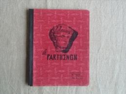 Cahier Illustré Parthénon 1958 Tinéo Villefranche De Lauragais, écrit.Voir Photos. - Other