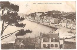 Dépt 29 - AUDIERNE - Les Quais Vus De La Montagne - Hôtel Du Commerce - Audierne