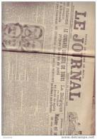 LE JOURNAL - Dimanche 26 Décembre 1920 - Nr 10297 - D22 - Giornali