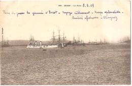 Dépt 29 - BREST - La Rade (nombreux Bateaux) - Brest