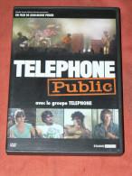 "DVD SPECTACLE "" TELEPHONE PUBLIC"" 1979 TOURNEE  DOCUMENTAIRE DE JM PERRIER DUREE 1H35 SON 5.1 DOLBY - Musik-DVD's"