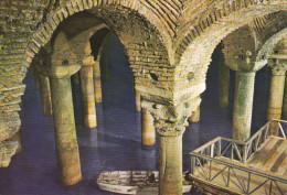 ISTANBUL. Yere Batan Sarayi (532)  -  La Citerne Basilique (532). - Turchia