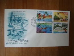 Palau:  FDC  Fishing Methods Von 1984 ! - Palau