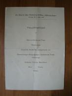 "HAPAG, Hamburg-Amerika Linie, Speisekarte Motorschiff ""Milwaukee"" 3.3.1935 ! - Menükarten"