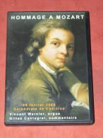 """DVD SPECTACLE"""" HOMMAGE A MOZART """" A LA CATHEDRALE DE CHARTRES DU  28/02/2006 ORGUE VINCENT WARNIER - Musik-DVD's"""