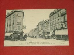VERSAILLES   -  La Rue Carnot - La Brasserie Muller Qui Fut Le Siège Des Etats Généraux En 1789  - ( 2 Scans ) - Versailles