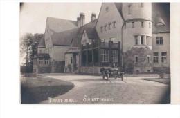 Taagepera Schloss, Castle, Sanatorium, Old Car Ca 1930 NICE OLD PHOTOPOSTCARD 2 Scans - Estonie