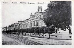 ZEMUN - SEMLIN - ZIMONY, Hauptgasse - Glavna Ulica, Feldpost 1918 - Serbien