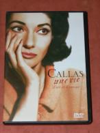 "DVD SPECTACLE OPERA  BIOPIC "" CALLAS UNE VIE  D ART ET D AMOUR "" BONUS CONCERT HAMBOURG 1962 STEREO 2.0 / - Musik-DVD's"