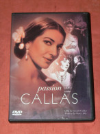 "DVD SPECTACLE OPERA  BIOPIC ""PASSION CALLAS  "" BONUS  STEREO 2.0 / - Musik-DVD's"