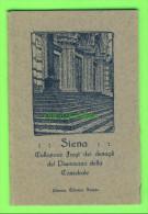 SIENA, ITALIA - LOT OF 12 CARDS + COVER - COLLEZIONE FREGI DEI DETTAGLI DEL PAVIMENTO DELLA CATTEDRALE - - Cartes Postales
