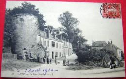 Cpa LAON 02 La Tour Penchée -  Timbre Perforé CNE - Laon