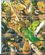 REPUBLIQUE KARAKALPAKIA   Oiseaux Et Faune Divers - Stickers