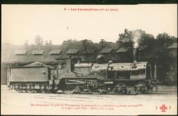 Cie Du Midi - Les Locomotives - Machine Pour Trains  De Voyageurs, Compound...série 1701 à 1704 - Trains
