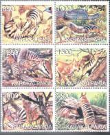 REPUBLIQUE KARAKALPAKIA     Faune Diverse - Stickers