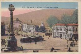 Syrie - Damas - Merdjé - Place - Tramways