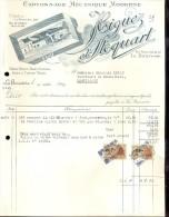 Factuur Facture Brief Lettre  - Cartonnage Higuez & Stoquart - La Bouverie - Bernissart 1953 - Belgique