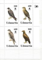 REPUBLIQUE  OUDMOURTIE     Oiseaux - Stickers
