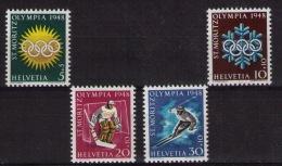 SWITZERLAND Winter Olympic Games St Moritz - Winter 1948: St. Moritz