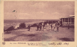 AFRIQUE - MAROC - FEDALAH - La Plage Et Le Casino (animation) - Otros