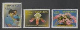 Honduras (1999) Yv. Av. 1001AJ/AL  /  Orchids - Flowers - Fleurs - Blumen - Fiori - Policia - Policeman - Polizei - Polizia – Gendarmeria