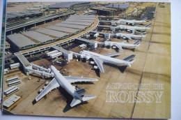 AEROPORT / FLUGHAFEN  / AIRPORT        ROISSY CDG    EDITION PI N°  763 - Aerodrome