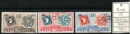 1941 SARDEGNA  TRIESTE A  Serie Cpl  Usata - Usati