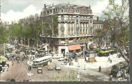 TOULOUSE....Boulevard De Strasbourg Et Place J. D'Arc...années 50 ??..........14 X 9 - Toulouse