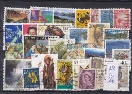 NZ, Kl. Lot Neuseeland (100), Gest. - Neuseeland