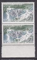 N° 1584 Série Touristique: Le Château De Chantilly Une Paire - France