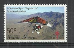 MEXICO 2010 - HANG-GLIDER - MNH MINT NEUF NUEVO - Transport