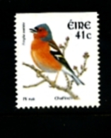 IRELAND/EIRE - 2002  41 C.  CHAFFINCH  IMPERF  TOP  MINT NH - 1949-... Repubblica D'Irlanda