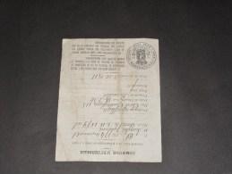 ETTERBEEK - Inscription Aux Registres De La Population - 1911 - SWAELES JULIENNE N2E LE 1/11/1879 - Documents Historiques