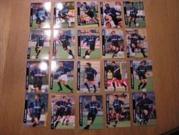 CALCIO 2000 Squadra INTER MILAN Team 20 Players  Trading Cards Football Italia Italie Carte Collection - Trading Cards
