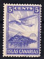 ISLAS CANARIAS 5 CTS. AZUL VIOLACEO.  SES 359 - Emisiones Nacionalistas