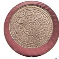 TIBET TANGKA DOTS LOTUS  SILVER -III- 19E EEUW - Monnaies