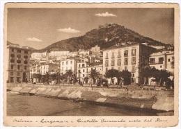 B2575 - Salerno - Lungomare E Castello Guiscardo Visto Dal Mare - Salerno