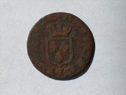 FRANCE DEMI A LA VIEILLE TETE SOL 1772 W LILLE - 987-1789 Royal