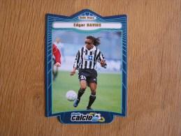 CALCIO 2000 GOLD STARS Edgar Davids Trading Cards Football Italia Italie Carte Collection - Tarjetas De Colección