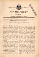 Original Patentschrift - B. Paszkiewicz In Trzebaw B. Polanów / Pollnow , 1896 , Kartoffel - Legemaschine , Stenschewo ! - Maschinen