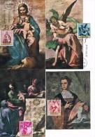 013 - 1969 Spain 9 Maximum Card FDC Alonso Cano - Religious