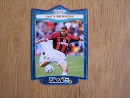 CALCIO 2000 GOLD STARS Andriy Shevchenko Trading Cards Football Italia Italie Carte Collection - Trading Cards